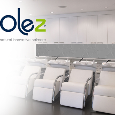 Olez Hair Products in the salon